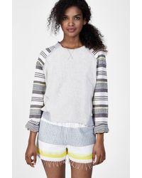 Lemlem | Blue Meron Sweatshirt | Lyst
