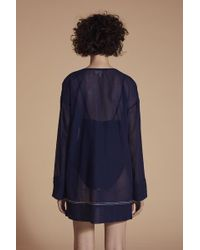 Lemlem Blue Essential Tunic