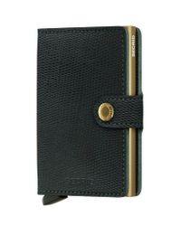 Secrid Mini Wallet | Rango Green Gold
