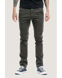 Nudie Jeans - Multicolor Slim Adam | Dark Desert Gr for Men - Lyst