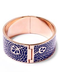 Liberty - Blue Hera Solid Cuff - Lyst