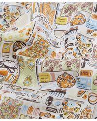 Liberty Orange Handkerchief