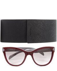 Prada - Multicolor Cat-eye Sunglasses - Lyst