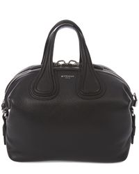 Givenchy | Black Nightingale Waxy Leather Medium Tote Bag | Lyst