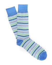 Paul Smith | Blue Multi Stripe Socks for Men | Lyst