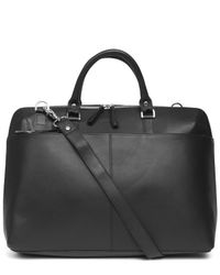 Sandqvist Black Dustin Briefcase for men