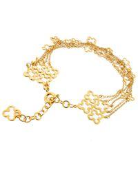 Dinny Hall | Metallic Gold Vermeil Talitha Bracelet | Lyst