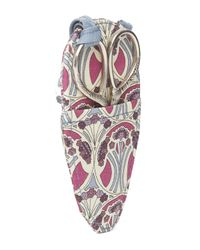 Liberty Multicolor Sewing Scissors And Case