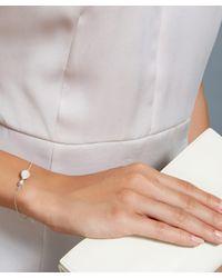 Astley Clarke | Metallic Silver Moonstone Stilla Bracelet | Lyst