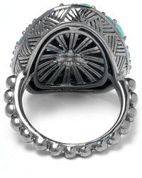 Stephen Dweck - Black Topaz Twin Stone Ring - Lyst