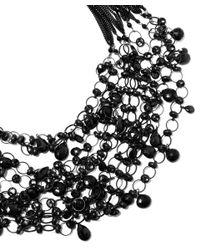 Rosantica | Black Notte Necklace | Lyst