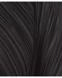 Pleats Please Issey Miyake - Pink Black Triangle Cut Crop Throw On Jacket - Lyst