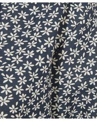A.P.C. Black Printed Cotton-jersey Dress