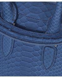 Alexander McQueen - Blue Chanter Bag - Lyst
