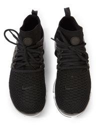 Nike Black Air Presto Ultra Flyknit Trainers