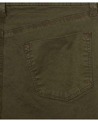 J Brand - Green Khaki Tapered Leg Josie Trousers for Men - Lyst