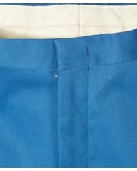 Paul Smith - Blue Slim Turn Up Chino Trousers for Men - Lyst