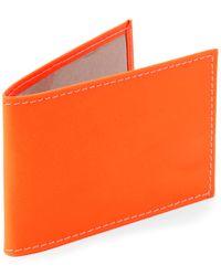Undercover - Orange Leather Travel Card Holder - Lyst