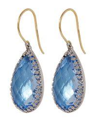 Larkspur & Hawk - Blue Sophia Drop Earrings - Lyst