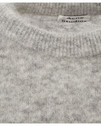 Acne Studios - Gray Dramatic Sweater - Lyst