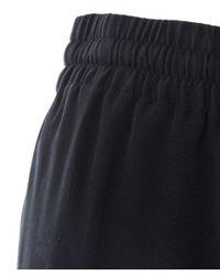 JOSEPH - Black Matte Silk Lula Track Trousers - Lyst