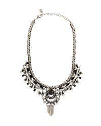 DANNIJO | Metallic Plated Cherie Statement Necklace | Lyst