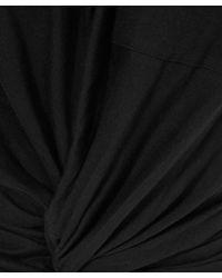 T By Alexander Wang - Black Baggy Jersey T-shirt - Lyst