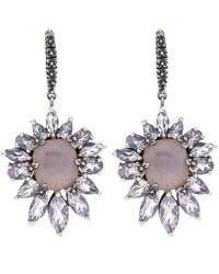 Stephen Dweck | Blue Crystal Quartz And Lavender Moon Quartz Earrings | Lyst