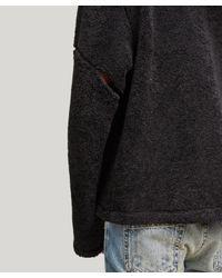 Helmut Lang Black Austria Fleece for men