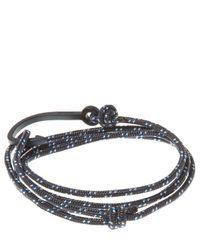 Miansai - Blue Hook On Rope Bracelet for Men - Lyst