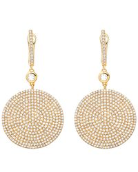 Astley Clarke - Metallic Gold Large Icon Diamond Earrings - Lyst