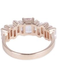 Suzanne Kalan - Multicolor Rose Gold Morganite Topaz Ring - Lyst