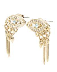 Lulu Frost - Metallic Discovery Stud Earrings - Lyst