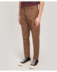 WOOD WOOD Brown Tristan Slim-leg Chino Trousers for men