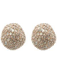 Alexis Bittar - Multicolor Crystal Encrusted Stud Earrings - Lyst