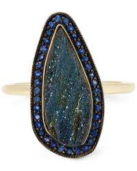 Andrea Fohrman - Metallic Gold Rainbow Hematite One-of-a-kind Ring - Lyst
