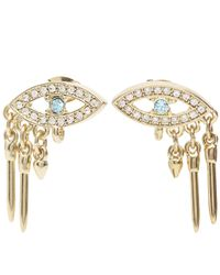 Lulu Frost - Metallic Discovery Stud Earrings - Lyst