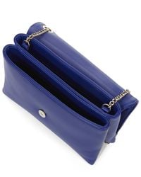 Lanvin - Blue Smooth Lambskin Mini Sugar Bag - Lyst