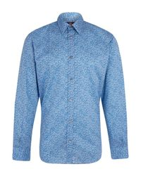 Liberty Blue Glenjade Mens Shirt for men