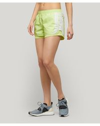 Adidas By Stella McCartney Yellow M20 Recycled Polyester Shorts