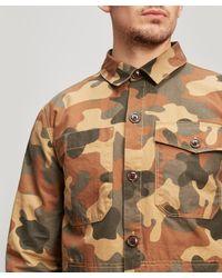 Barbour Green Camo Shirt for men
