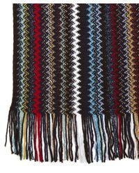Missoni - Multicolor Lurex Multicolour Zig Zag Scarf - Lyst