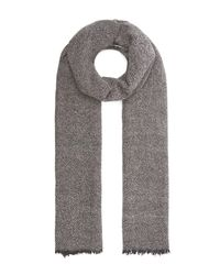 Nick Bronson - Gray Multi Weave Scarf - Lyst