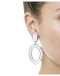 Diana Broussard - Metallic Eurydice Mirror And Resin Earrings - Lyst