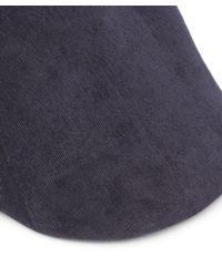 Paul Smith - Blue Manjit Cord Flat Cap for Men - Lyst