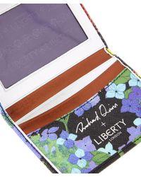 Liberty - Blue Richard Quinn Hydra Travel Card Holder - Lyst