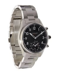Kronaby - Metallic Apex Stainless Steel Metal Strap Smart Watch for Men - Lyst