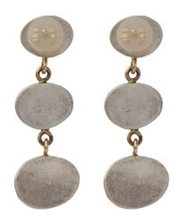 Melissa Joy Manning - Metallic Labradorite Three Drop Earrings - Lyst