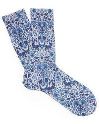 Falke Blue Lodden Tiago Socks