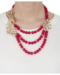 Oscar de la Renta - Red Sea Tangle Necklace - Lyst